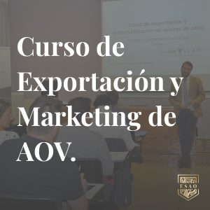 Exportacion marketing AOV
