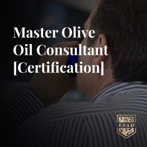 Master Olive Oil Consultant Certification